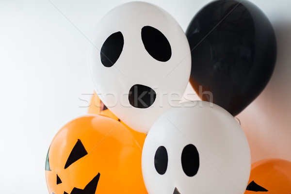 Effrayant air ballons décoration halloween fête Photo stock © dolgachov