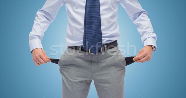 Biznesmen pusty ludzi biznesu upadłość Zdjęcia stock © dolgachov