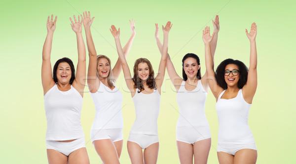 группа счастливым различный женщины победу Сток-фото © dolgachov