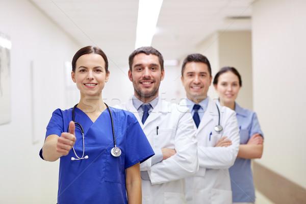 Lekarzy szpitala zawód ludzi Zdjęcia stock © dolgachov