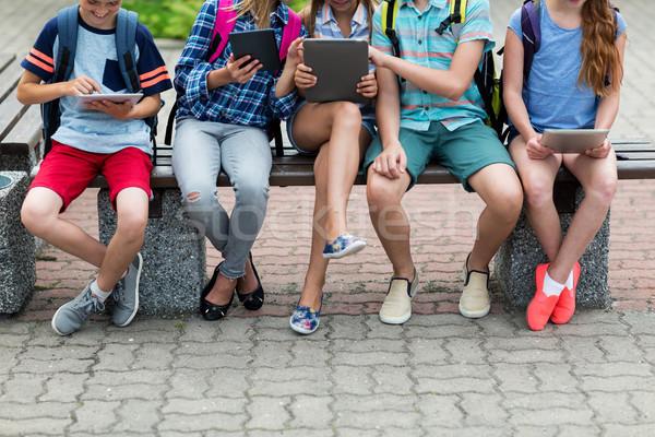 Elemental estudiantes primario educación Foto stock © dolgachov