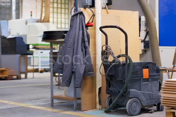 Veste industrielle atelier production industrie magasin Photo stock © dolgachov