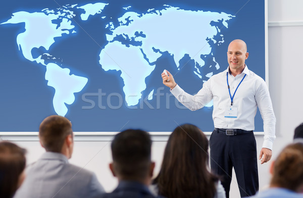 Grupy ludzi świat działalności konferencji edukacji ludzi Zdjęcia stock © dolgachov