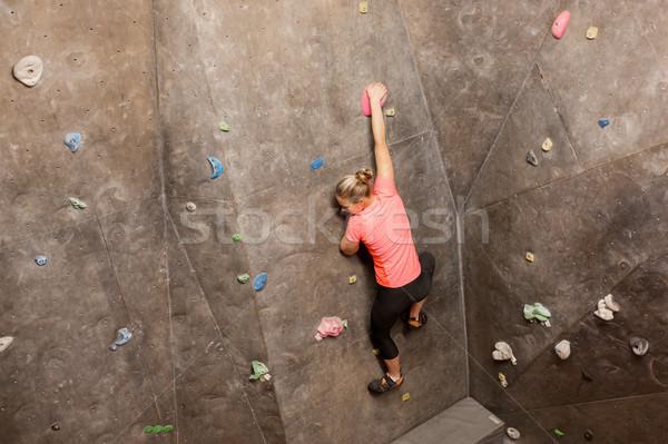 скалолазания спортзал фитнес Сток-фото © dolgachov