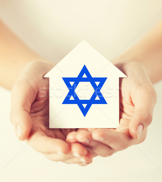Photo stock: Mains · maison · star · religion · judaïsme