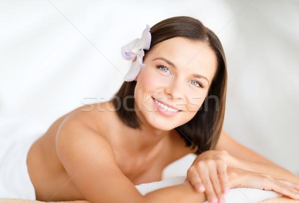 Bella donna spa salone salute bellezza resort Foto d'archivio © dolgachov