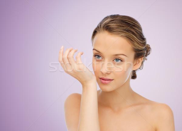 Nő parfüm csukló kéz szépség aroma Stock fotó © dolgachov