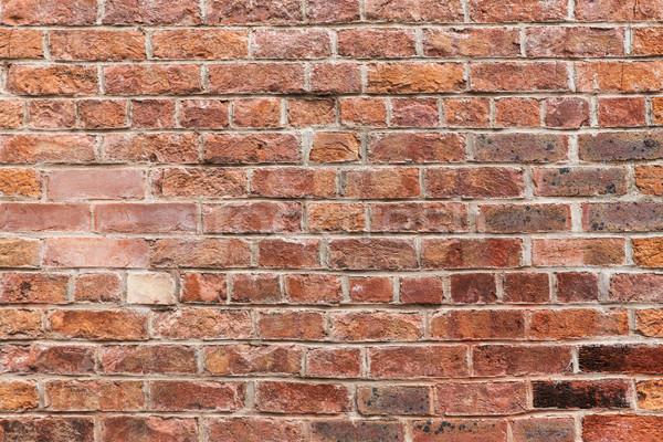 Stockfoto: Rood · muur · metselwerk · gebouw · texturen
