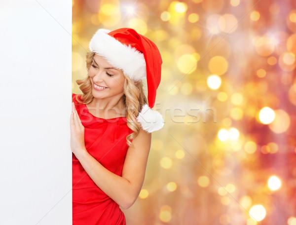 Mulher ajudante seis natal Foto stock © dolgachov