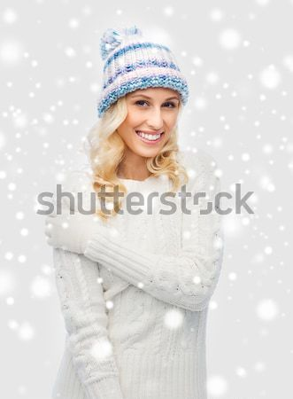 santa helper with big disco ball Stock photo © dolgachov