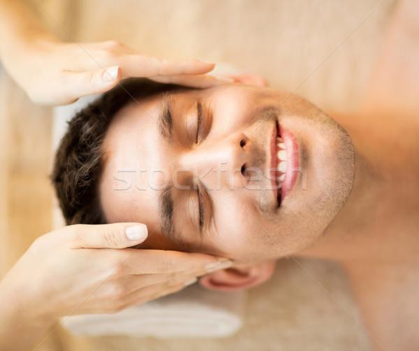 Сток-фото: человека · Spa · здравоохранения · красоту · массаж · салона