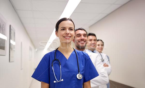 グループ 幸せ 医師 病院 クリニック 職業 ストックフォト © dolgachov