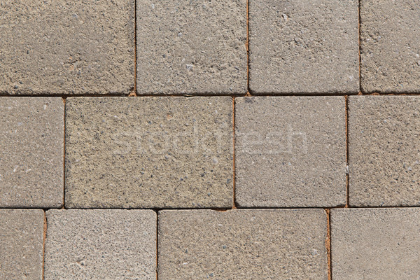 close up of brick or stone wall outdoors Stock photo © dolgachov