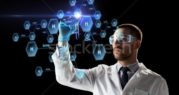 科学 試験管 化学 式 科学 研究 ストックフォト © dolgachov