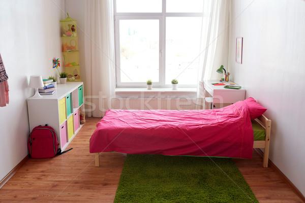 дети комнату интерьер кровать таблице Сток-фото © dolgachov