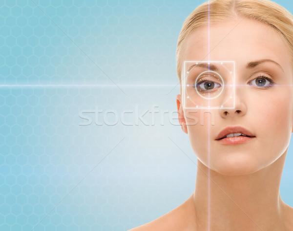 красивой лазерного свет линия здоровья Сток-фото © dolgachov