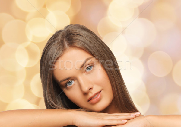 Hermosa desnudo espalda belleza personas Foto stock © dolgachov