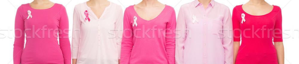 Zdjęcia stock: Kobiet · raka · świadomość · opieki · zdrowotnej