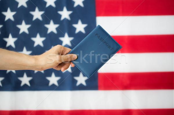 стороны американский паспорта гражданство национализм Сток-фото © dolgachov