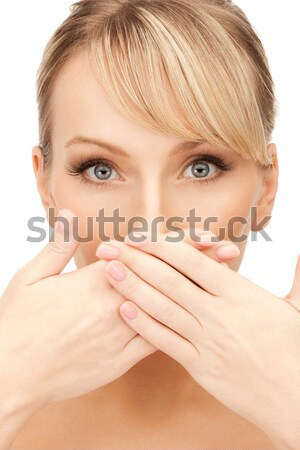 Belle femme lumineuses portrait photos femme Photo stock © dolgachov