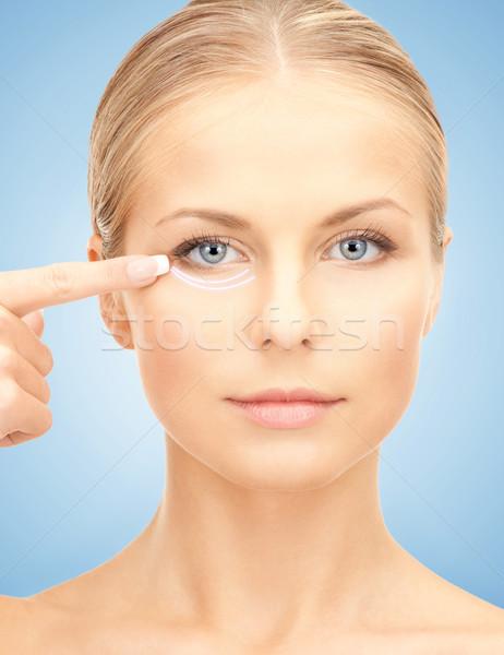 美容整形 画像 美人 準備 女性 顔 ストックフォト © dolgachov