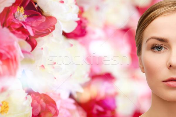 Сток-фото: лице · красивая · женщина · здоровья · красоту · красивой