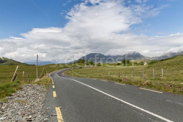 アスファルト 道路 アイルランド 旅行 夏 ストックフォト © dolgachov