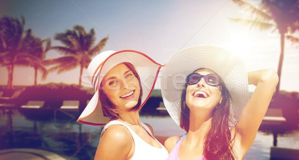 улыбаясь пляж лет праздников Сток-фото © dolgachov