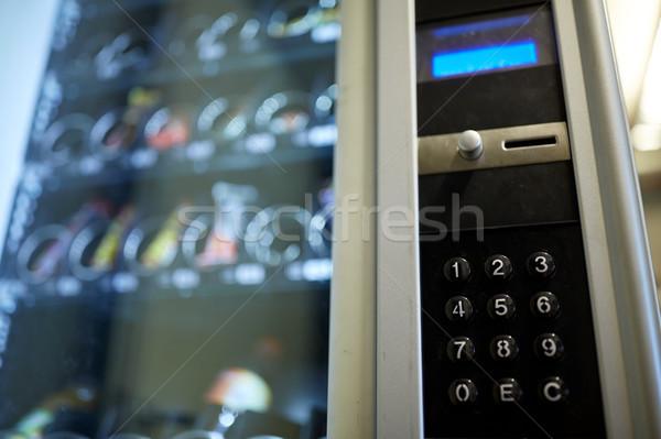 árusító automata billentyűzet operáció panel elad technológia Stock fotó © dolgachov
