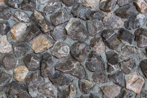 Steen decoratief tegel textuur ontwerp korrelig Stockfoto © dolgachov