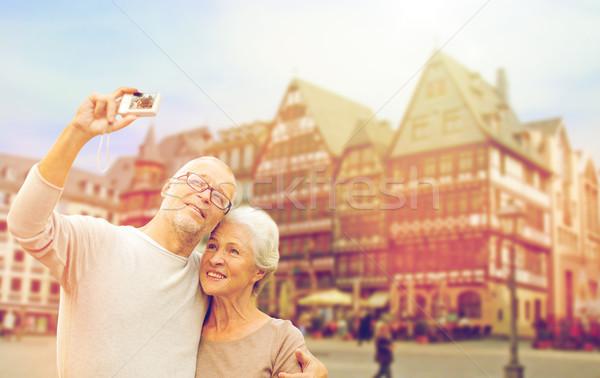 カメラ フランクフルト 観光 旅行 ストックフォト © dolgachov