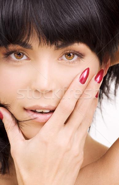 woman face Stock photo © dolgachov