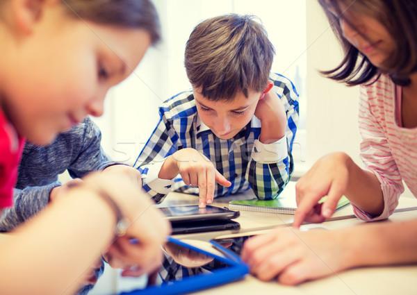 Сток-фото: группа · школы · дети · классе · образование