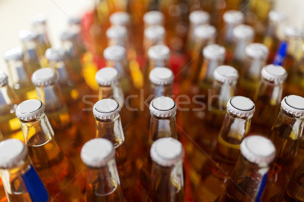 close up of bottles at liquor store Stock photo © dolgachov