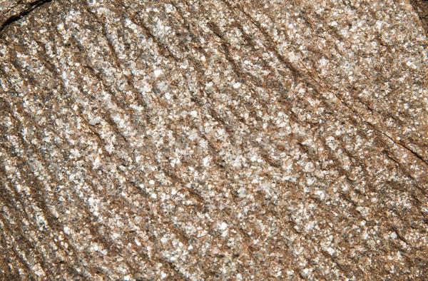 close up of granite stone surface Stock photo © dolgachov
