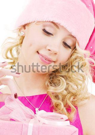 Yardımcı pembe kadın iç çamaşırı disko topu seksi Stok fotoğraf © dolgachov