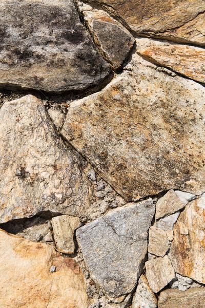 close up of rock texture outdoors Stock photo © dolgachov