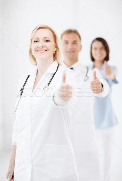Equipo médicos salud médicos Foto stock © dolgachov