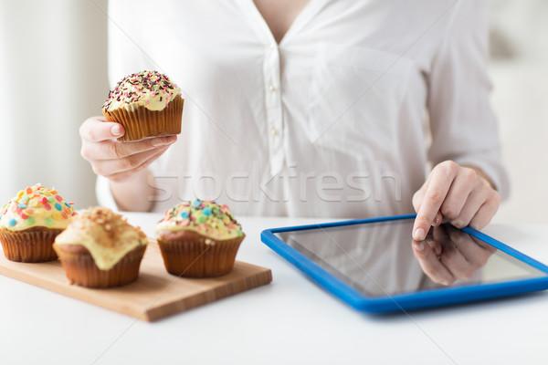Stockfoto: Vrouw · mensen