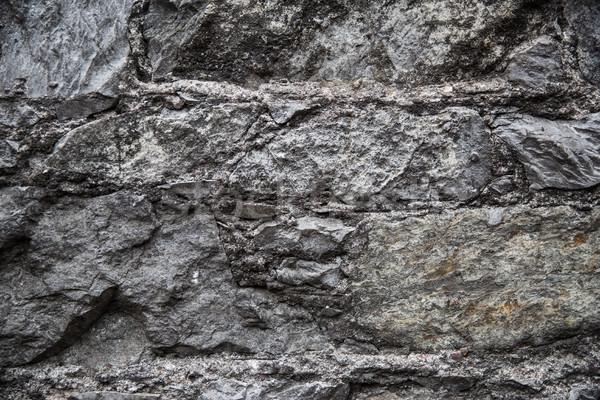Eski tuğla taş duvar mimari duvarcılık Stok fotoğraf © dolgachov