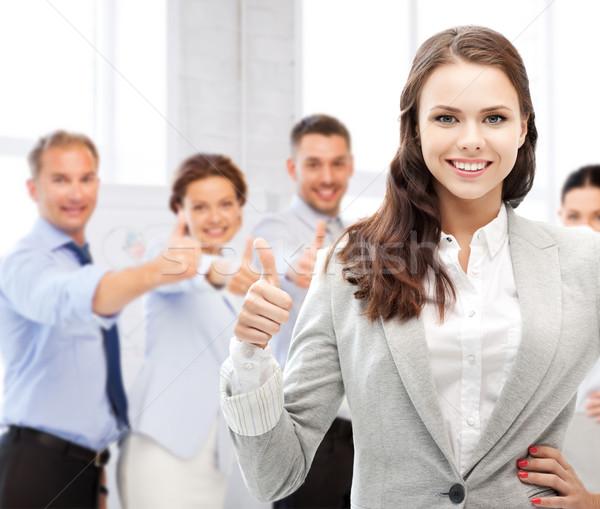 Foto d'archivio: Imprenditrice · ufficio · business · successo