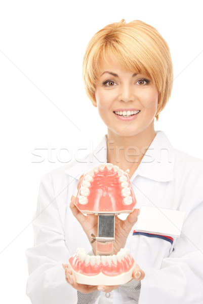 Médecin photos femme médecine dentiste Photo stock © dolgachov