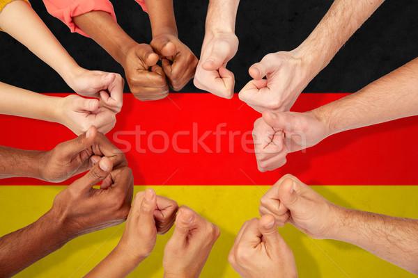 Zdjęcia stock: Ręce · międzynarodowych · ludzi · różnorodności