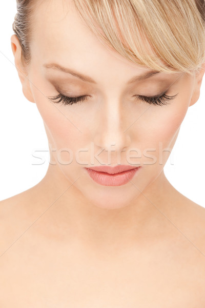Stock photo: beautiful woman