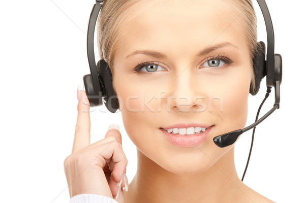 helpline Stock photo © dolgachov