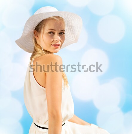 サンタクロース ヘルパー 少女 ランジェリー 画像 ストックフォト © dolgachov