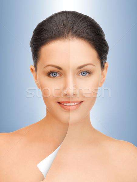beautiful woman Stock photo © dolgachov