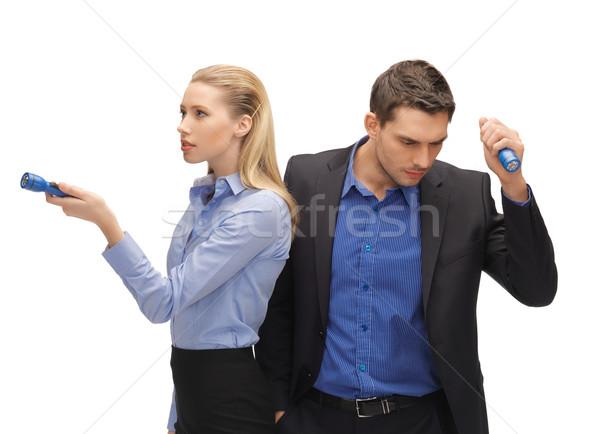 男 女性 明るい 画像 ビジネス オフィス ストックフォト © dolgachov