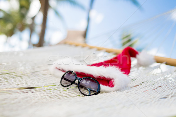 Maca ajudante seis férias natal Foto stock © dolgachov