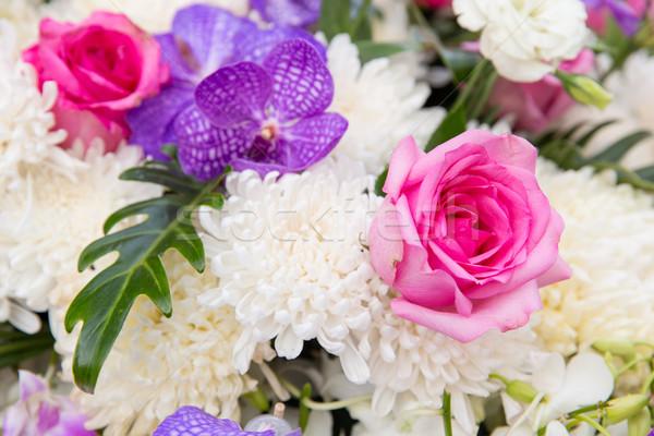 beautiful flowers decoration Stock photo © dolgachov
